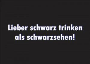 Postkarte-14005-rollende-Kaffeebohne-schwarze-ReFanCard