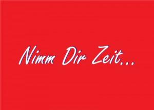 Postkarte_14004_Nimm_Dir_Zeit_ReFanCard
